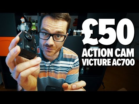 Are BUDGET ACTION CAMERAS Worth Buying? - Victure AC700 4k