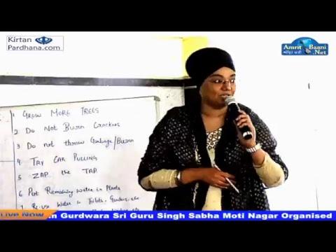 ENVIRONMENT DAY GURDWARA SRI GURU SINGH SABHA MOTI NAGAR,NEW DELHI