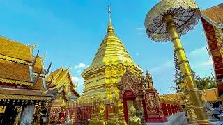 Храм Дой Сутхеп в Чиангмай Путешествие по Таиланду 2020