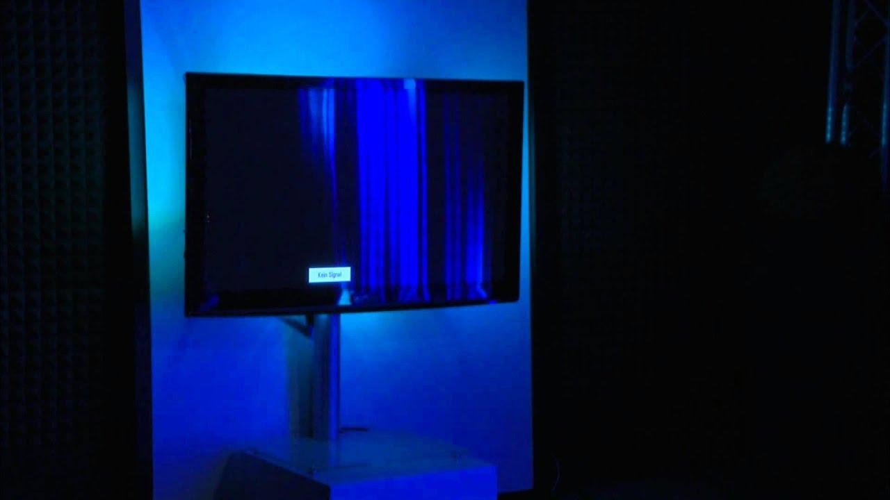 lunartec tv hintergrundbeleuchtung mit usb 2 0 multicolor 24 44 youtube. Black Bedroom Furniture Sets. Home Design Ideas