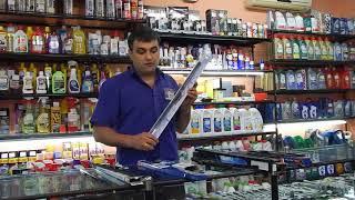 видео Каркасные и бескаркасные щетки стеклоочистителя