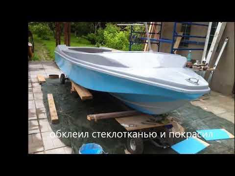 Востановление и реконструкция катера нептун 1