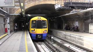 London Overground trains - Whitechapel Station