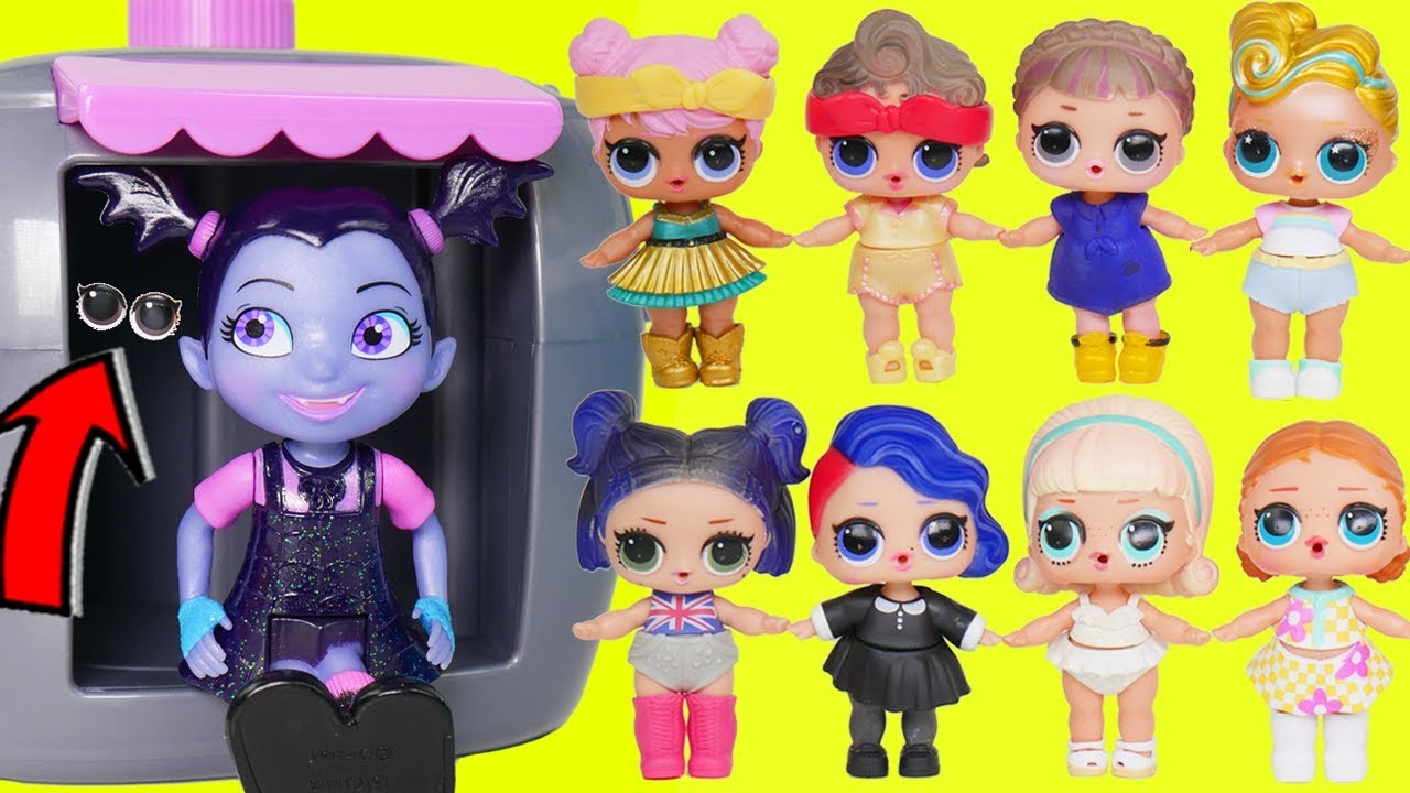 LOL Surprise Dolls Lil Luxe + Big Sisters Open Magical ...