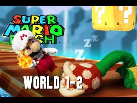 Super Mario Plush World 3-1 - YouTube