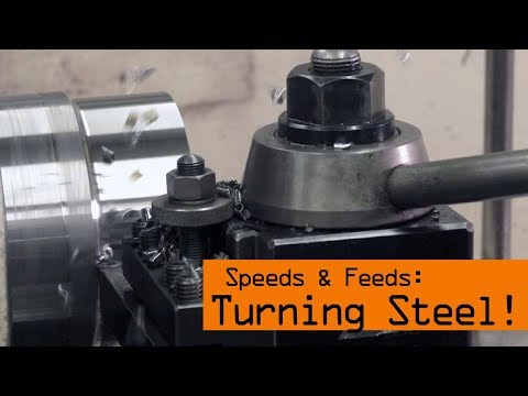 Speeds & Feeds for Steel on the Lathe!  WW171