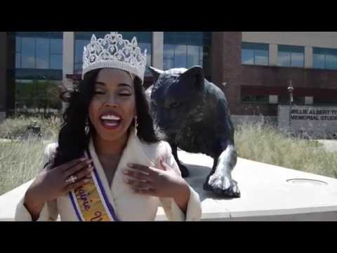 Vote Ashlee Elouise Sherman Miss PVAMU for Ebony HBCU Campus Queen 2015 poster
