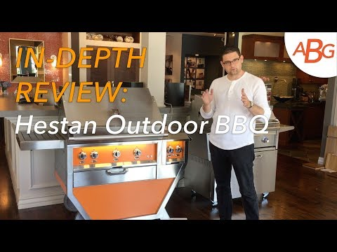 "Hestan Outdoor BBQ 55"" DELUXE CART - GMBR36CX2"