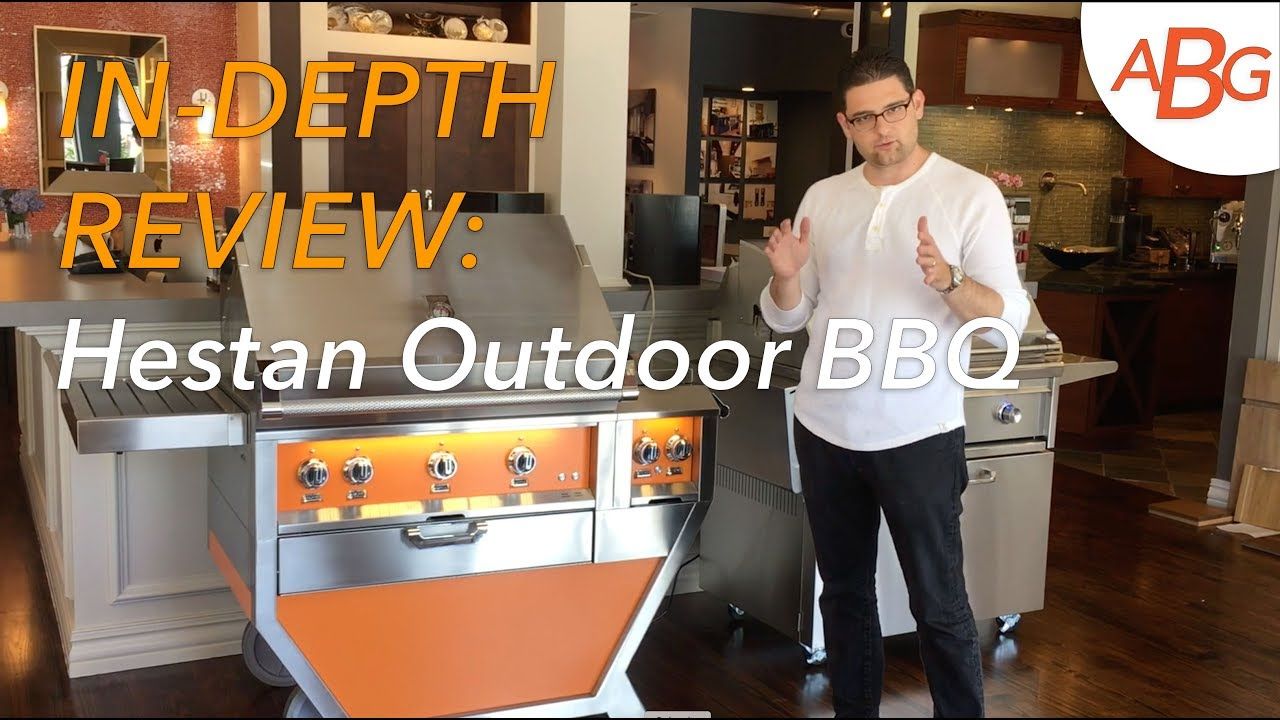 Hestan Outdoor Bbq 55 Deluxe Cart Gmbr36cx2 Youtube