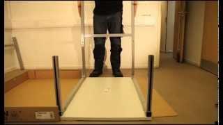 Height Adjustable Workbench Installation