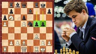 Game 8: Carlsen Plays