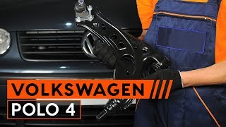 Hvordan bytte bærearm på VW POLO 4 [BRUKSANVISNING AUTODOC]
