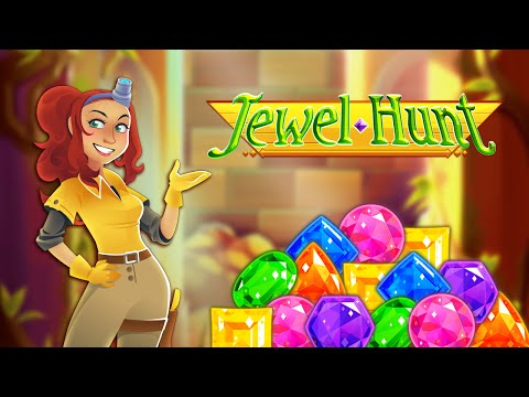 Jewel Hunt - Match-3 Puzzle Game for iPhone and Android