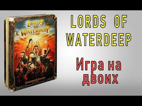 видео: Lords of Waterdeep. Игра на двоих