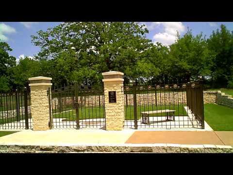 President George Hw Bush Barbara Bush Future Burial Site Youtube