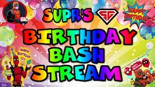 BIRTHDAY BASH STREAM( THERE WILL BE DRINKS)Milestones and EQ/ marvel contest of champions