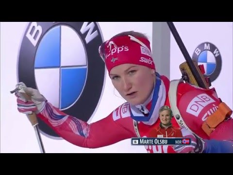 Biathlon World Cup 1 (2015-2016) - Women 15 km Race