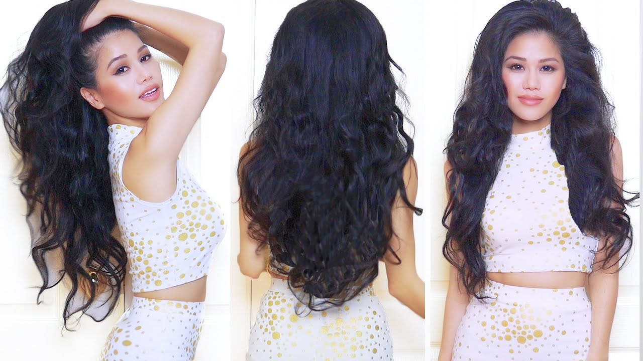 everyday hair heatless wavy