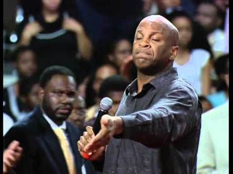 Donnie Mcclurkin prayer for the youth recored 2009 world youth service