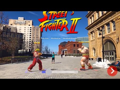 Street Fighter II in the real world