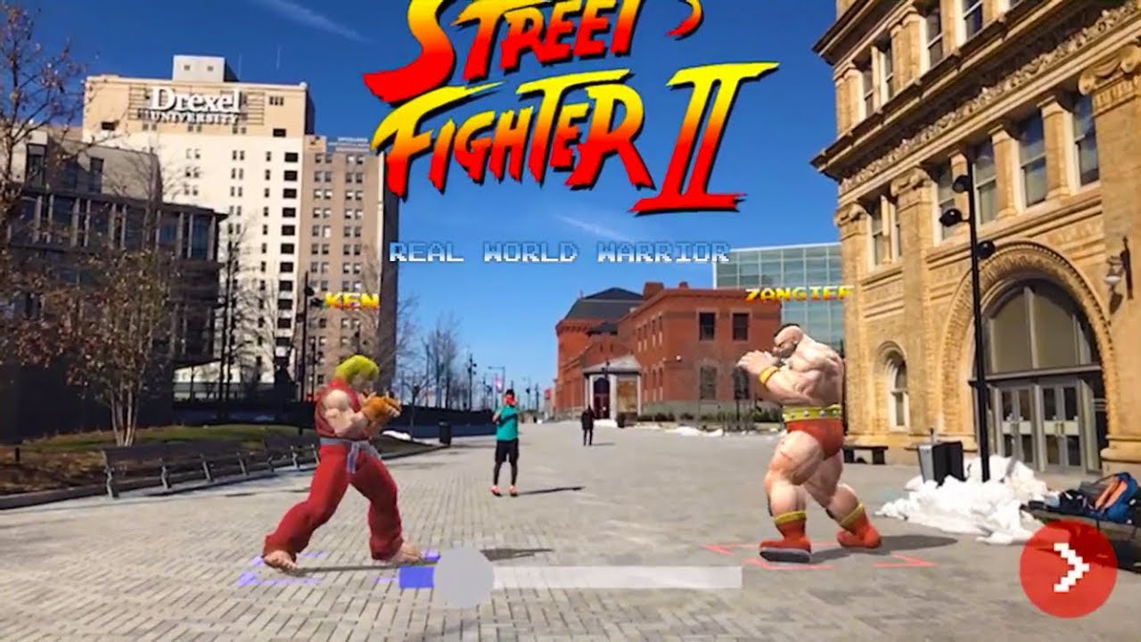street fighter ii in the real world youtube