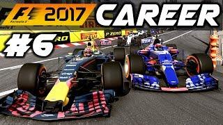 F1 2017 Career Mode Part 6: MONACO GRAND PRIX MADNESS