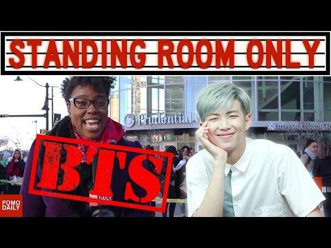 BTS Wings Tour, Prudential Center | Standing Room Only