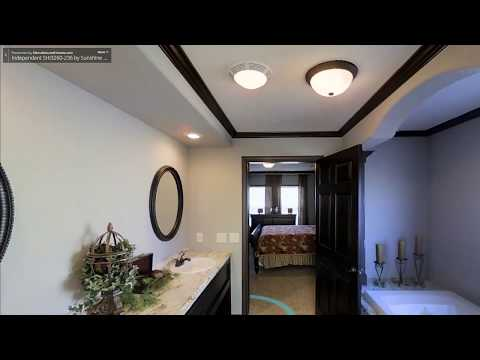 3D Home Tour - Manufacturedhomes.com - Sunshine Homes - Independent 3260-236