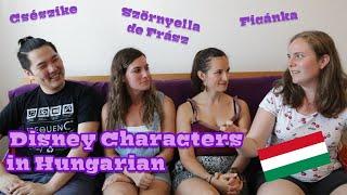 Disney Characters in Hungarian