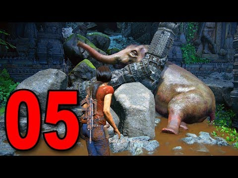 Uncharted: The Lost Legacy - Part 5 - SAVE THE ELEPHANT!