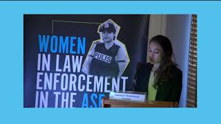 Recorded video of the launch of the Women in Law Enforcement in the ASEAN Region report