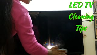 Tips For Led TV Screen Cleaning -How to Clean Led TV Screen