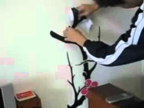 Wall Stickers DIY Instruction 2.flv