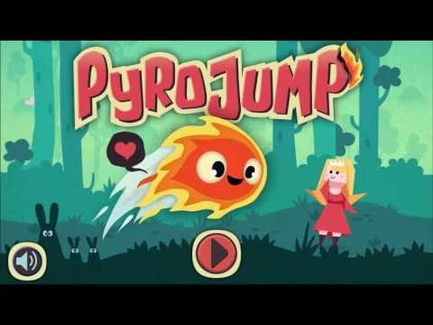 Pyro Jump - One Touch Platform Mobile Game Available Now!