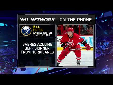 NHL Tonight:  Bill Hoppe:  on Sabres` trade for Skinner   Aug 2,  2018