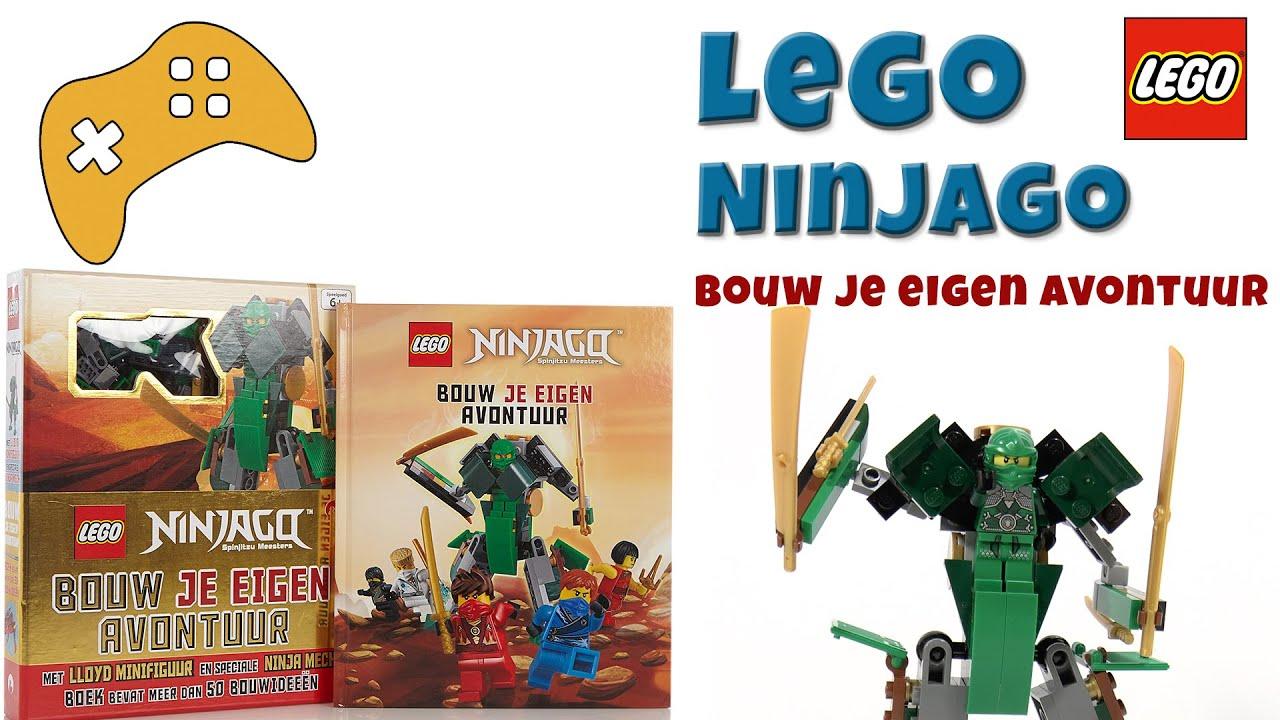 Lego ninjago bouw je eigen avontuur idee n boek youtube for Bouw je eigen badkamer