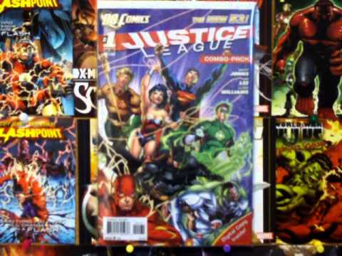 DC and Marvel Comic Pull List 8.31.11