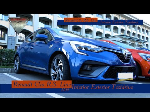 New Renault Clio 5 R.S. Line  2019  Exterior, Interior And POV Test Drive No Talking