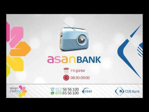 Asan radio və CDB Bank -  Kredit kartları