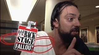 Backstage Fallout - Delusions of grandeur? - Raw - August 27, 2012