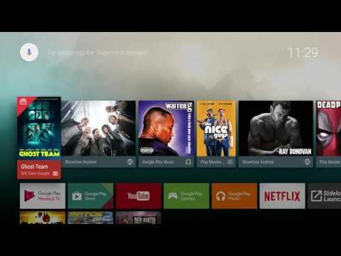 Nexus Player Nougat 7.0 Android Full Update & Install Length video + First Restart