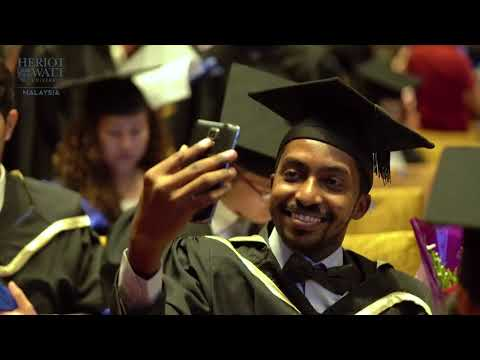 Heriot Watt University Malaysia's 2017 Graduation - Top Ranked UK University Degree
