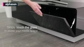 Element Modular TV Stand Glass Cabinet | Deconti UK