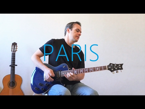 The Chainsmokers - Paris - Electric Guitar Cover
