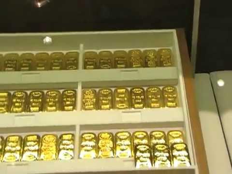 Gold 1 Kilo Bars At Dubai International Airport