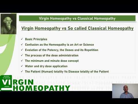 Virgin Homeopathy (Dr. Hahnemann's Method) vs Classical  Homeopathy 2019 10 14 #26