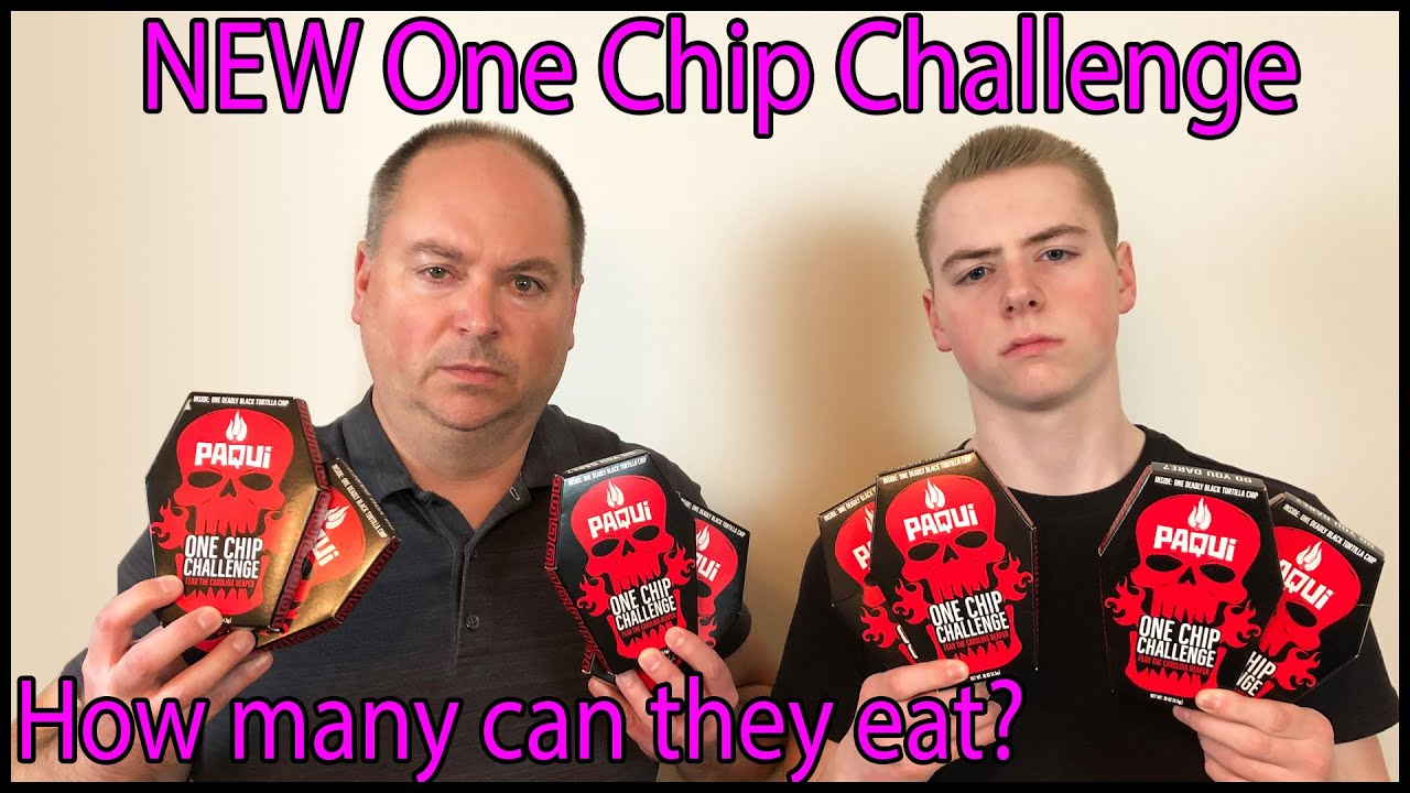 The World's Hottest Tortilla Chip (Paqui #OneChipChallenge) : Crude Brothers