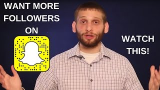 More Tips on How to Get Followers on Snapchat - Marketing Essentials