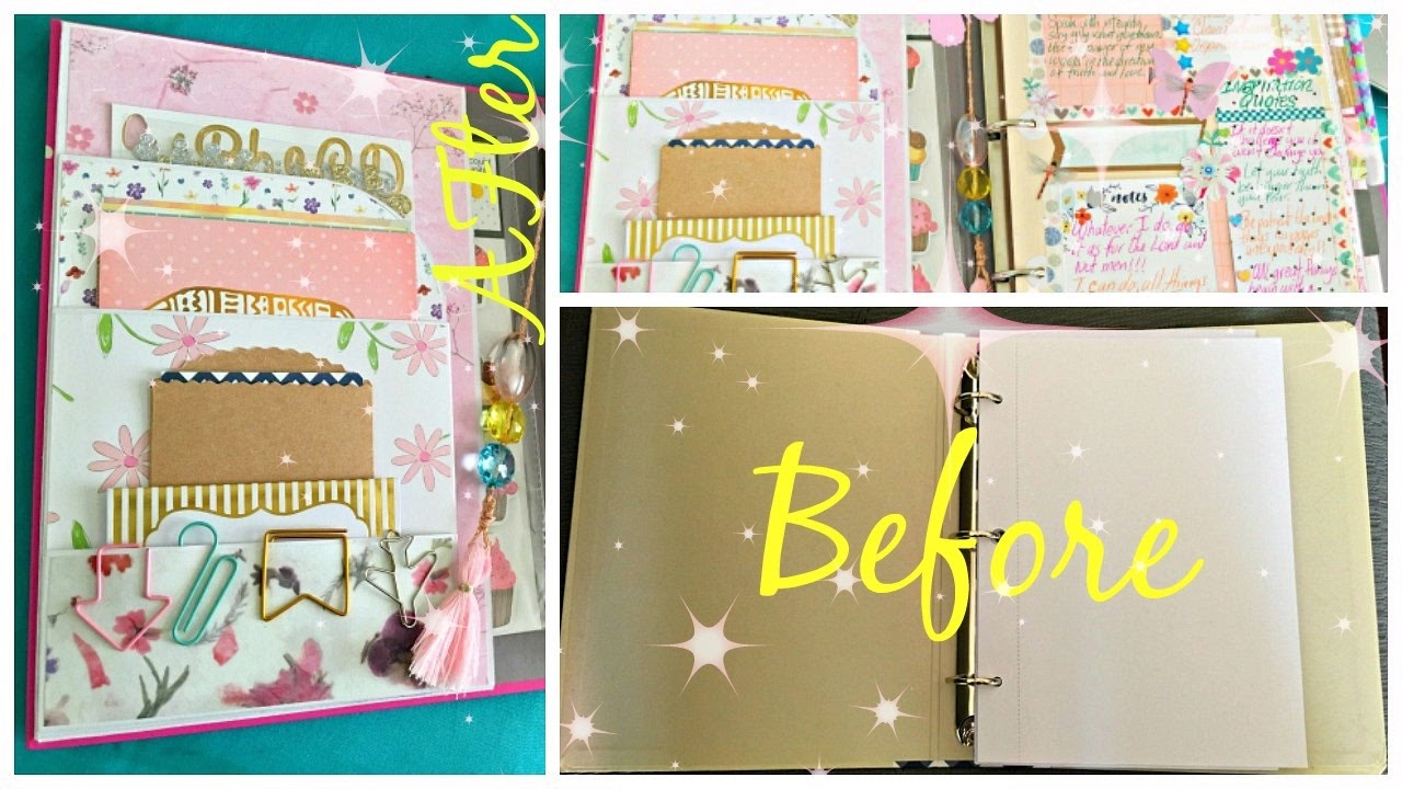 How to make a binder book