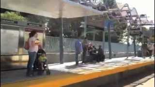 Expo Line Opens in Los Angeles, April 28, 2012